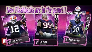 NEW FLASHBACKS JOSH GORDON AND RYAN SHAZIER AND MANY MORE!!!