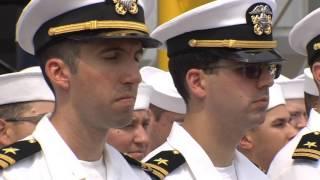 Huntington Ingalls Industries christens Virginia-Class Submarine Indiana at Newport News Shipbuildin