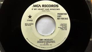If My Heart Had Windows , Amy Wooley , 1982