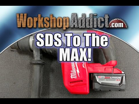 Milwaukee M18 FUEL 1-9/16″ SDS Max Hammer Drill Review Model 2717-22HD