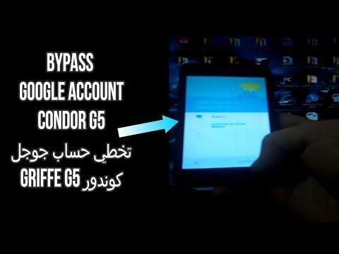 Bypass google account condor G5 تخطي حساب جوجل كوندور - смотреть