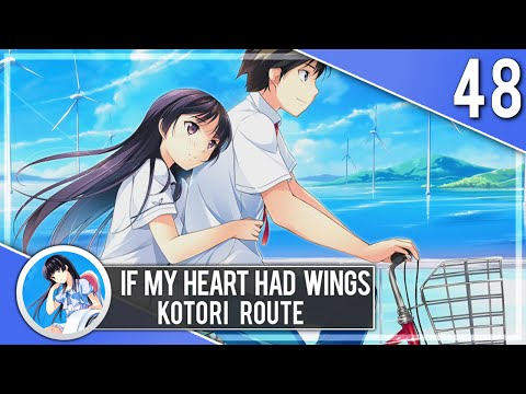 ROMANTIC BIKE RIDE WITH KOTORI - If My Heart Had Wings Let's Play 48 (Blind) (PC | 1080p)