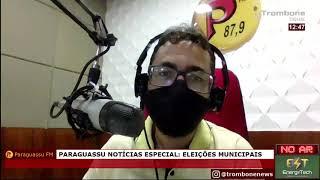 PARAGUASSU NOTÍCIAS ENTREVISTA TIAGO DA CENTRAL