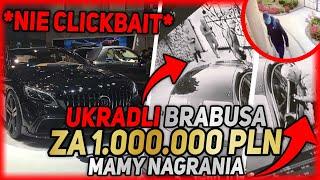UKRADLI MI MERCEDESA BRABUS S800! *nagrania*