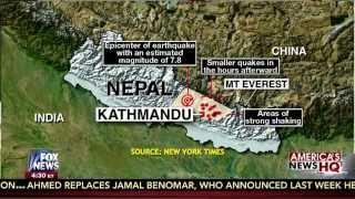 Earthquake : Massive 7.9 Earthquake strikes Kathmandu, Nepal and shakes Mt Everest (Apr 25, 2015)
