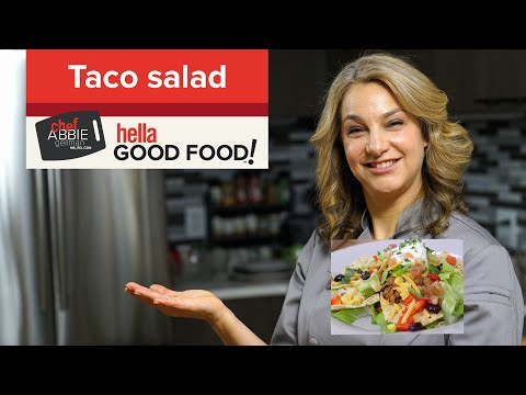 Taco Salad with Healthy Taco Seasoning