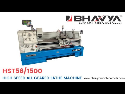 All Geared High Speed Lathe Machine Model No. HST56
