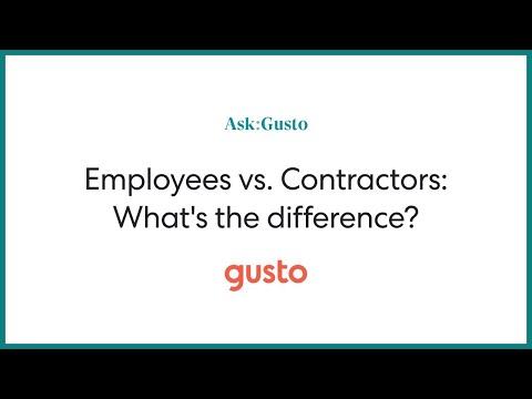 mp4 Managing Contractors Vs Employees, download Managing Contractors Vs Employees video klip Managing Contractors Vs Employees