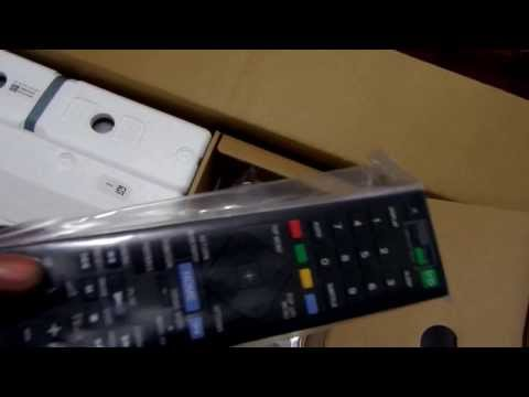 UNBOXING THE NEW SONY BDV-N9100W 3D BLU-RAY HOME THEATER SYSTEM
