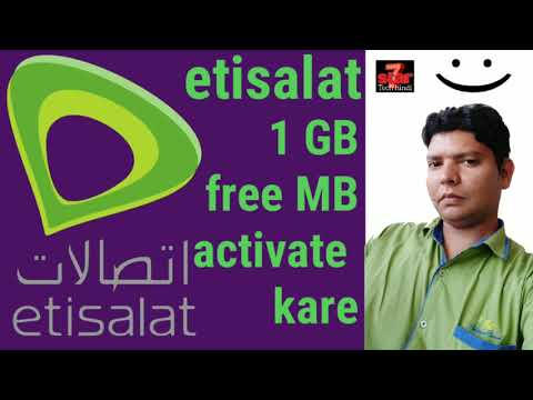 Etisalat Unlimited Free Internet 2019 - смотреть онлайн на