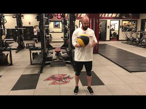 Med Ball Lateral Bound