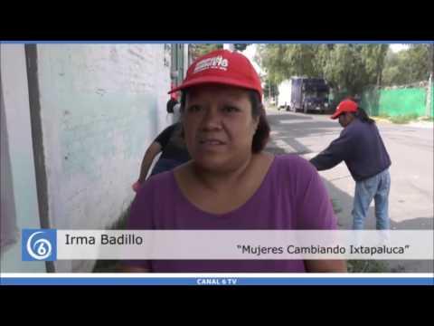 Se retoma por parte del gobierno municipal el programa Mujeres Cambiando Ixtapaluca