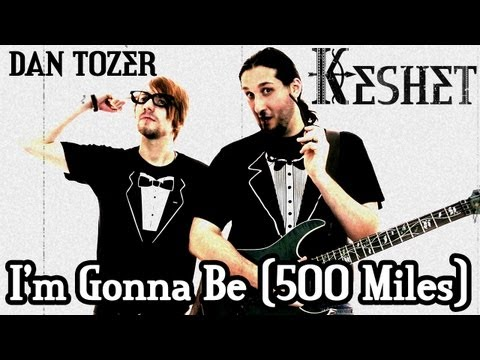 the proclaimers/500 miles - Punk cover by Keshet feat. Dan Tozer