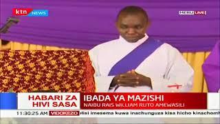 William Ruto awasili katika mazishi ya babake Seneta wa Meru Mithika Linturi