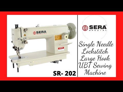 Single Needle Large Hook Lockstitch Sewing Machine