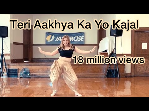 Teri Aakhya Ka Yo Kajal | Sapna Chaudhary | Cardio Dance Fitness| Easy Choreography | Haryanvi Song