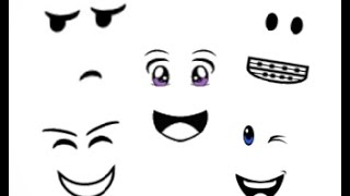 Free Roblox Face Codes!!! #2