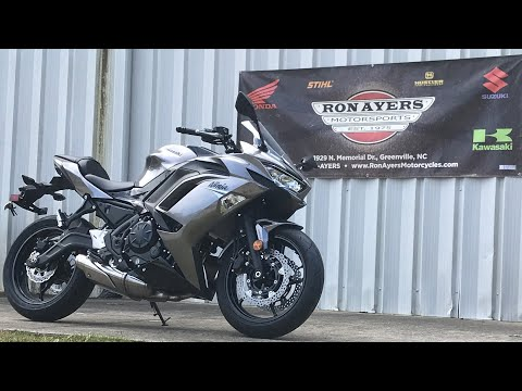 2021 Kawasaki Ninja 650 ABS in Greenville, North Carolina - Video 1