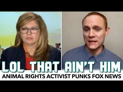 Fox News Gets Punked By Animal Rights Activist For 6 Minutes Straight