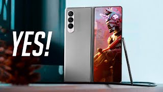Samsung Galaxy Z Fold 3 - It's BETTER Than Expected!