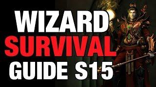Diablo 3 - Wizard Tal Rasha Season 15 Starter Build Guide Patch 2.6.1