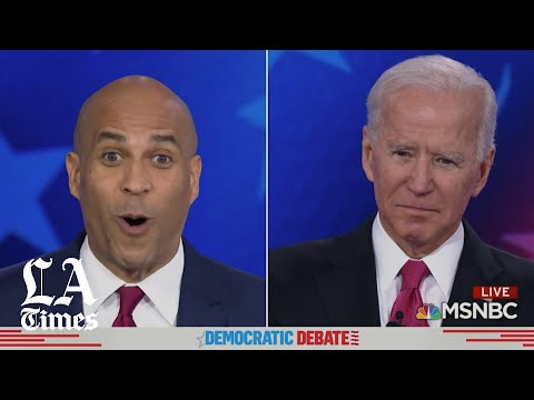 Booker on Biden's recent marijuana remarks: 'I thought you might've been high when you said it.'