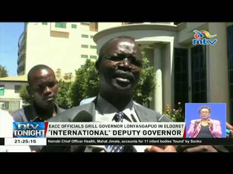 West Pokot governor defends deputy who works from the U.S