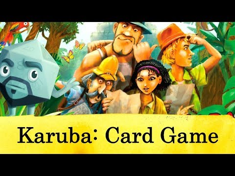 Karuba: The Card Game Review - with Zee Garcia