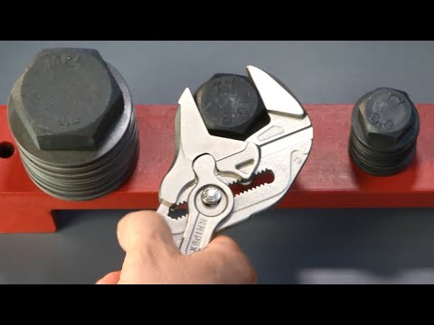 Pinces clés ajustables - KNIPEX