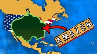 How big is the Amazon Rainforest !!!! The Amazon Rainforest size comparison !!!!