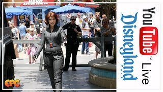 BLACK WIDOW ARRIVES IN STYLE AT DCA