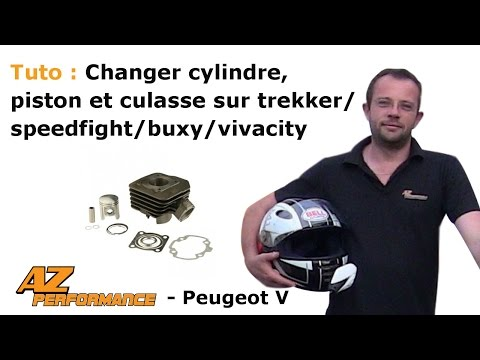 Changer le cylindre / piston / culasse de son Speedfight 1-2 / Trekker / Buxy / ...