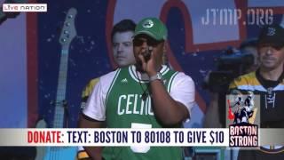 "Boston Strong - NKOTB & Boyz II Men ""Step by Step"" ""One Sweet Day"" - LIVE"