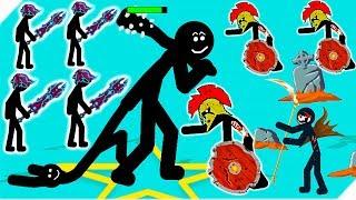 ВЕЛИКАН против ЯДОВИТЫХ ЗОМБИ - Stick War Legacy zombie. Андроид игры