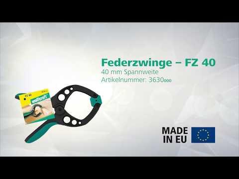 wolfcraft FZ 40, Federzwinge (Art.- Nr. 3630000)