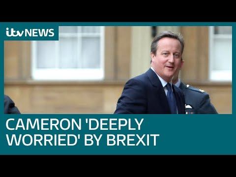 David Cameron admits he thinks about consequences of Brexit referendum 'every single day' | ITV News