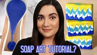 I Tried Following A Soap Art Tutorial
