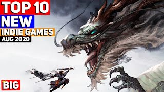 Top 10 Upcoming NEW Indie Games Of August 2020