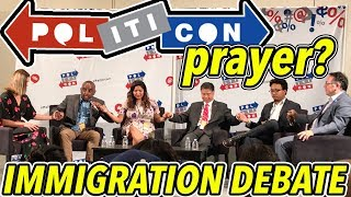 """ACLU Is Un-American!"" Black Trump Supporter vs Ted Lieu, Krystal Ball: Politicon Immigration Debate"