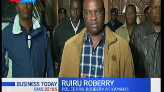 Three robbers shot dead in Ruiru in a botched robbery