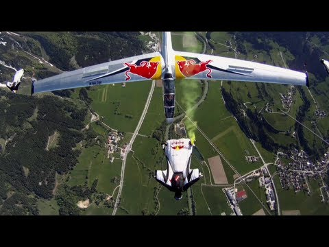 Video skydivers intercept gliders midair the low cost fighter jet solution for air forces in - Military wingsuit ...