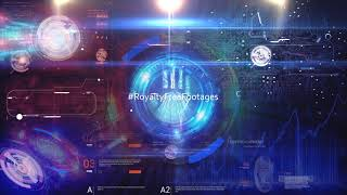 Futuristic Technology Background Loops | sci-fi background loop | hi-tech background video | Virtual