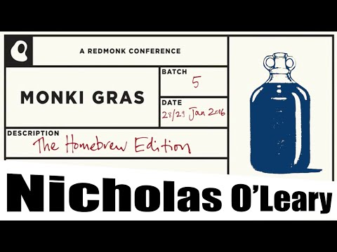 A tale of getting stuff done when you're 1 in 400,000 – Nicholas O'Leary – IBM – Monki Gras 2016