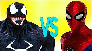 ВЕНОМ VS ЧЕЛОВЕК ПАУК   СУПЕР РЭП БИТВА   Spiderman Cartoon ПРОТИВ Venom Trailer