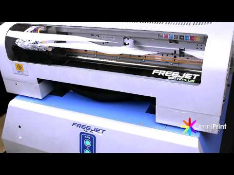 FreeJet 330TX Plus Hybrid Screen Print to DTG
