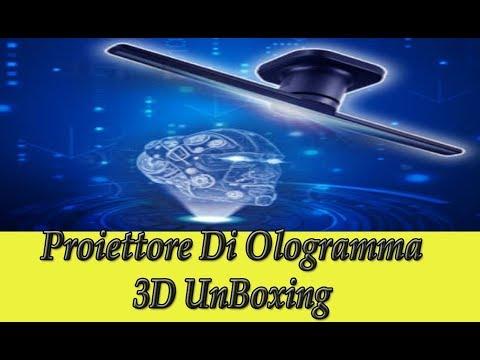 Proiettore di Ologramma 3D a led recensione proiettore olografico