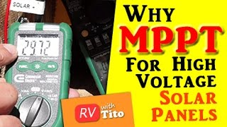 MPPT or PWM Solar Charge Controller for High Voltage Solar Panels?