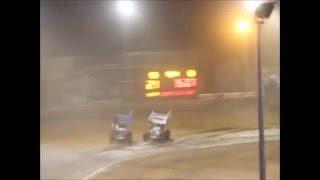 Bunbury Speedway | Callum Williamson Huge Crash