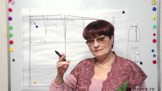 Прямая юбка карандаш с запахом и трапеция с запахом от Светланы Поярковой