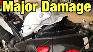 How to rebuild a wrecked Yamaha R1 part 9